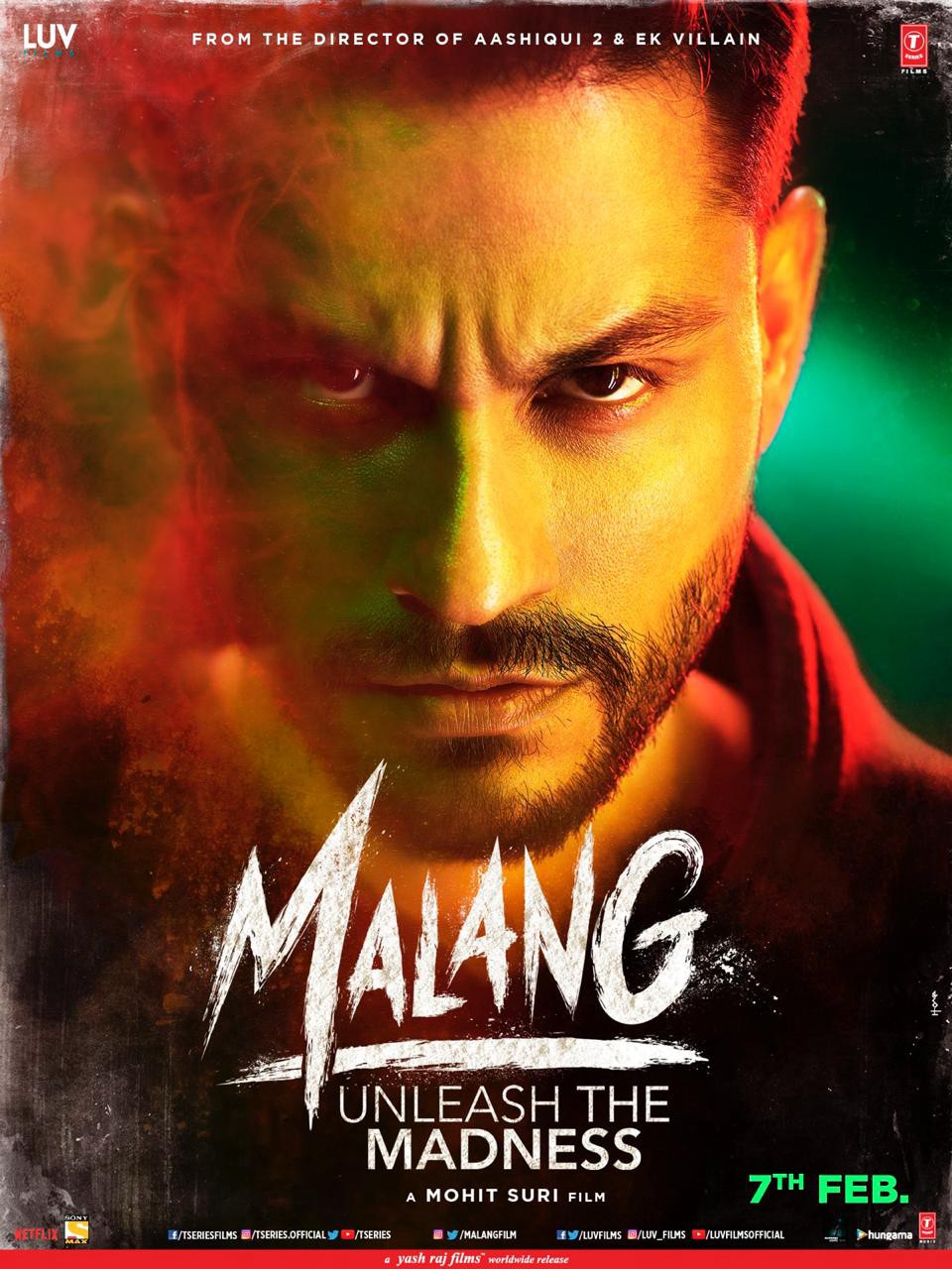 Malang Poster And Look Revealed By Ff Network By Filmi Files Medium