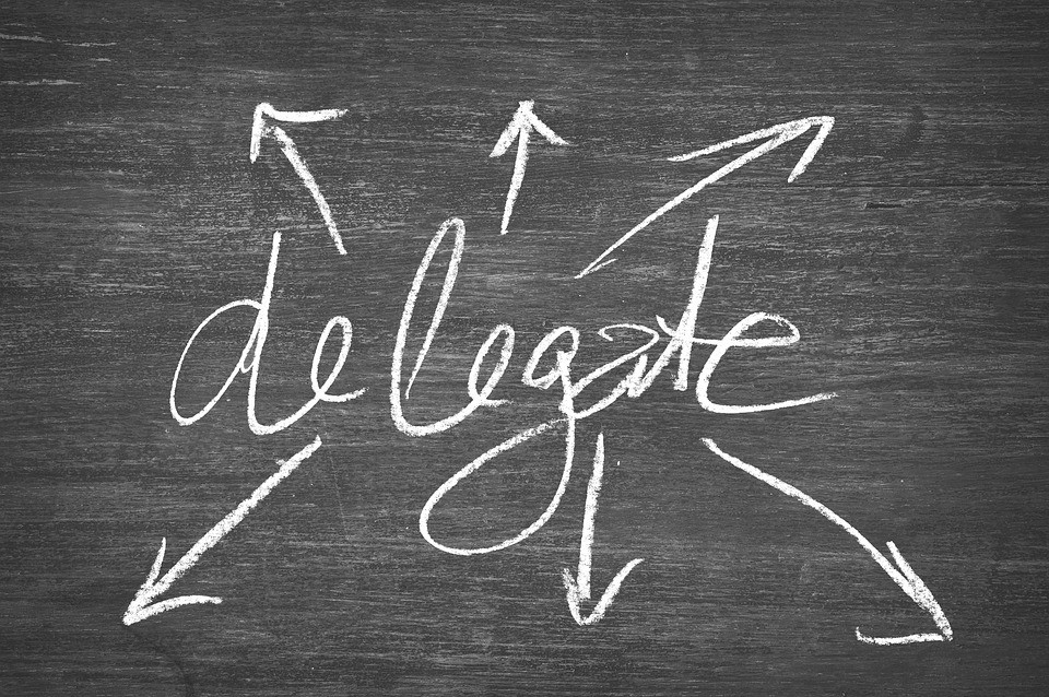 It's Great To Delegate