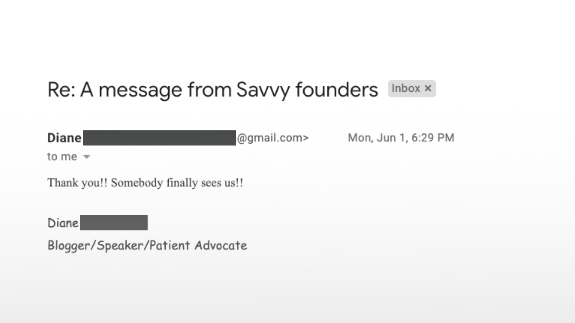 savvy email founders