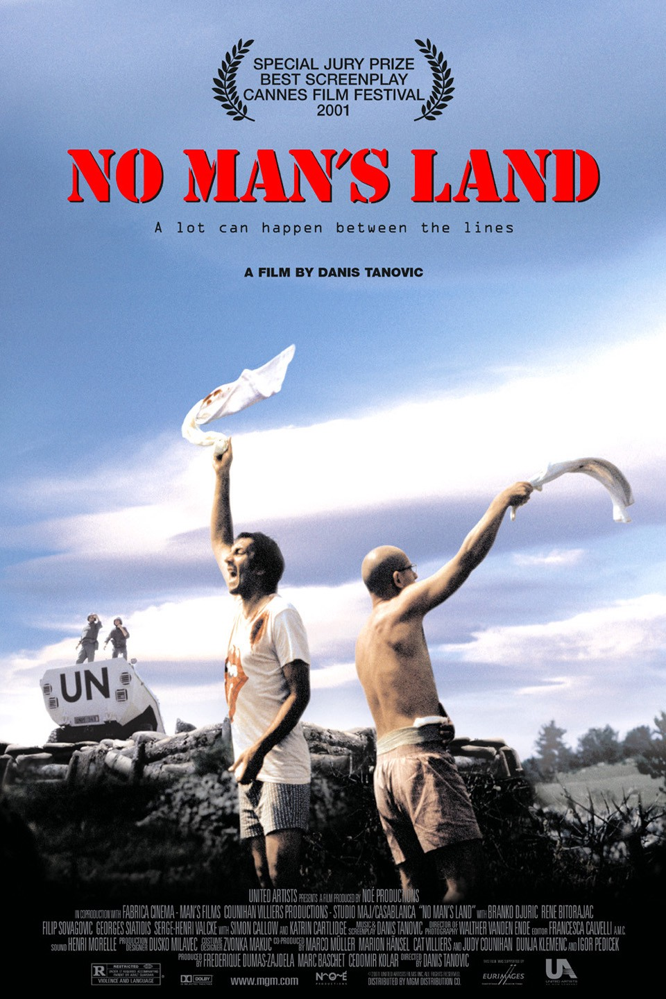 Poster for No Man's Land