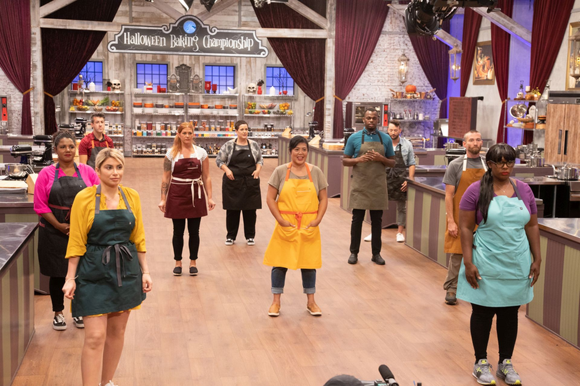 Watch Halloween 2020 Online Watch!!~ Halloween Baking Championship ~ (Season 6 :: Eps 1