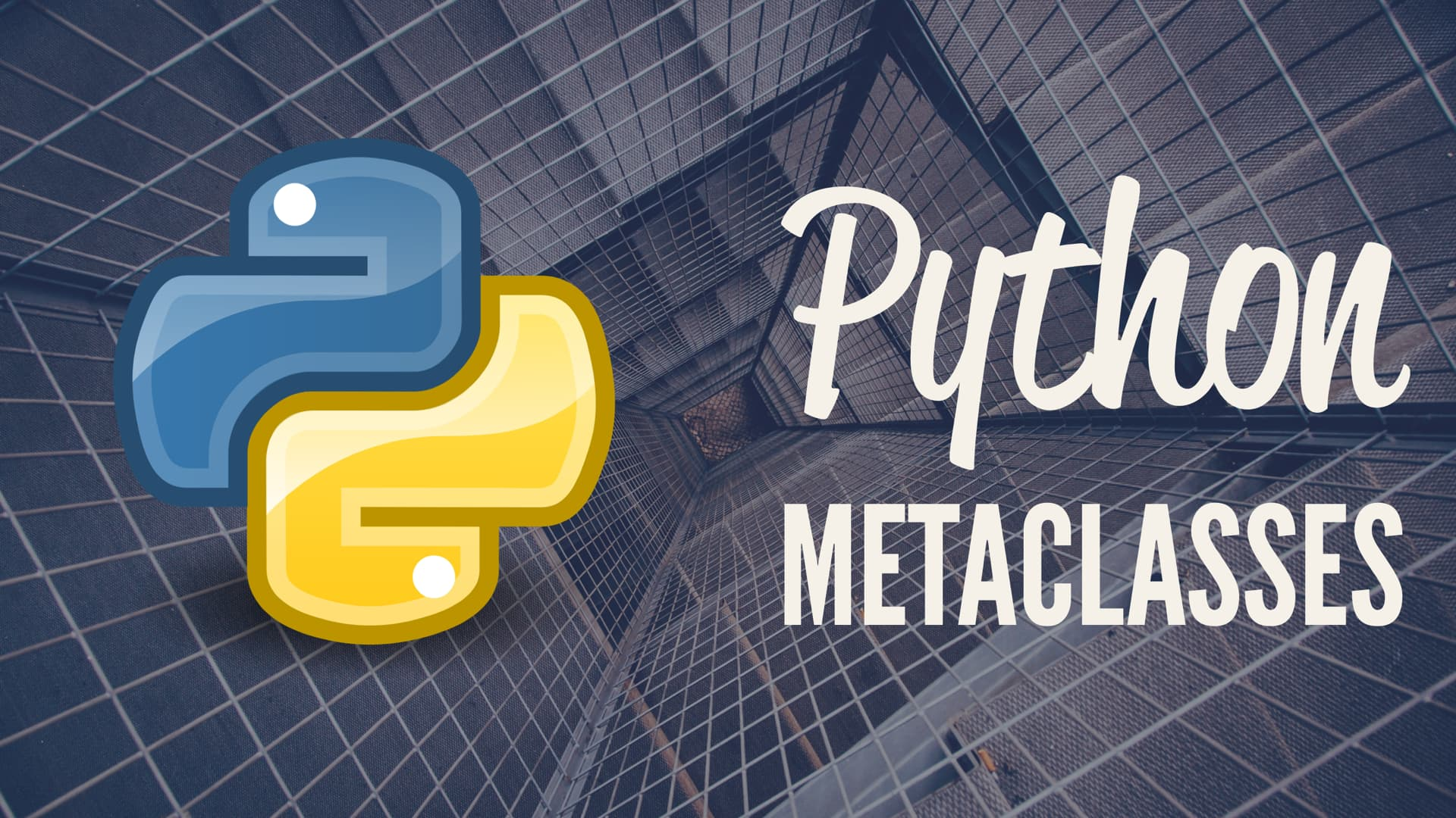 Introduction to metaclasses in Python - Bakthavatchalam