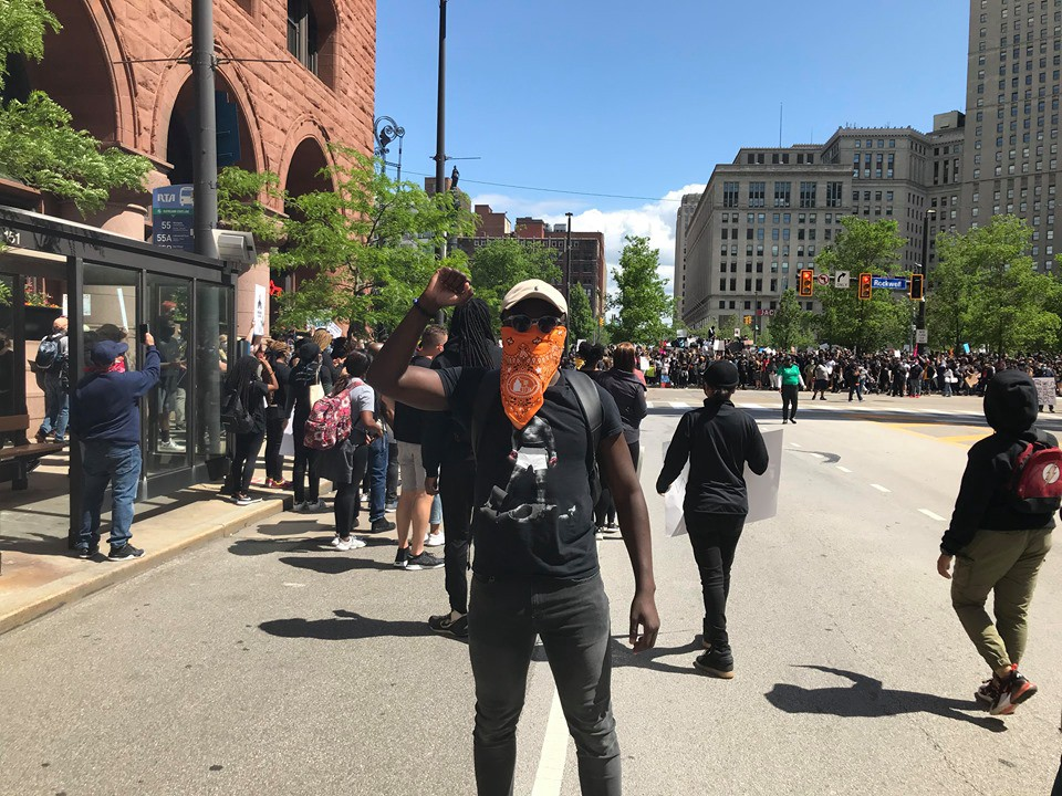Saturday, May 30th, 2020. Downtown, Cleveland