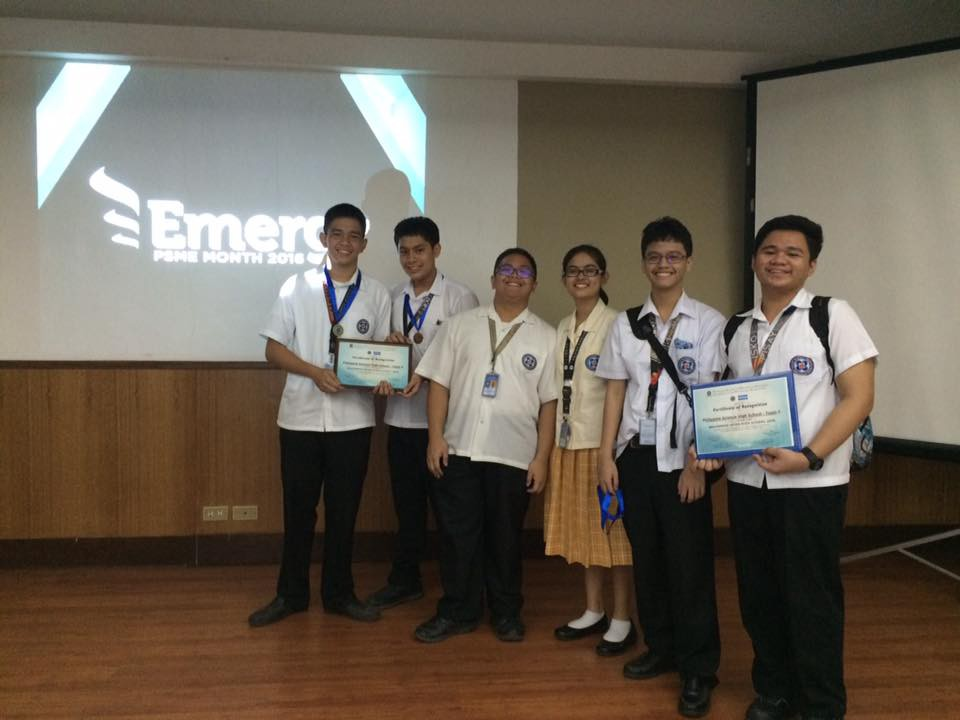 2019 students participate in BrainMEsh High 2016 - The