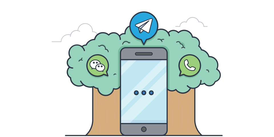 We just launched Chat API: integrate WeChat and Telegram