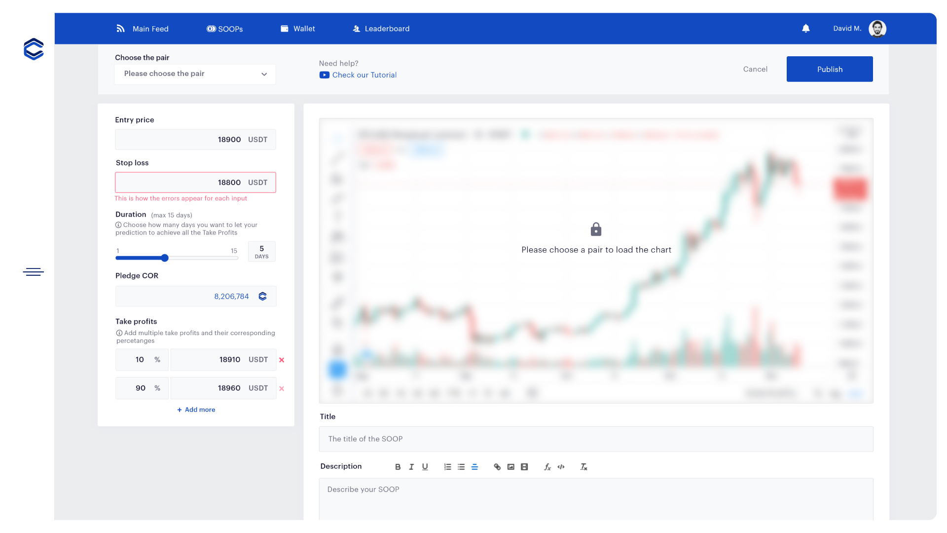 Coreto ALPHA Preview — Cretate predictions | Make your analysis and place your predictions to enter the SOOPs