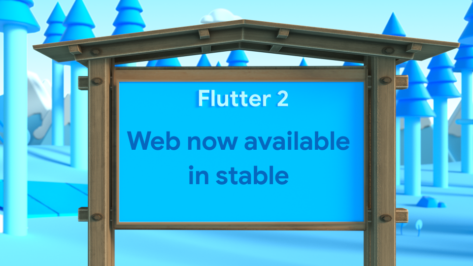 Flutter's web support is now available in stable