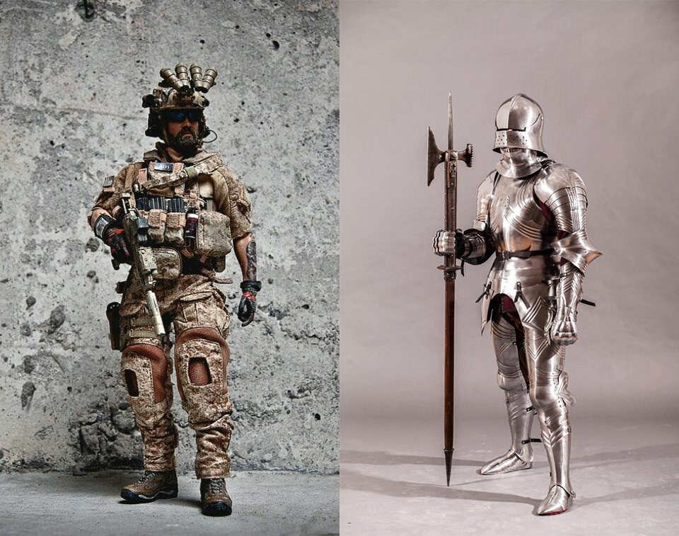 World of armor design - UX Collective