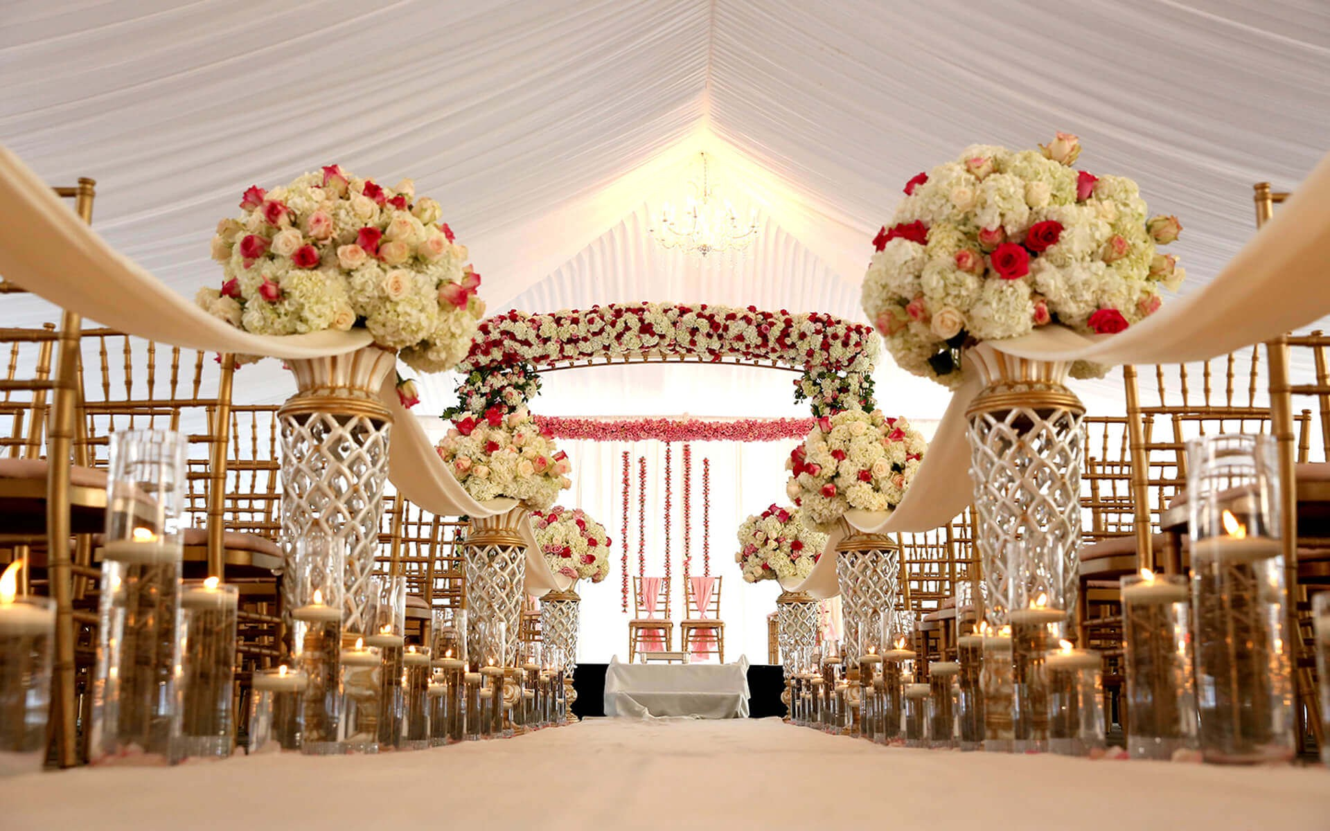 Wedding Decorations Hire near me
