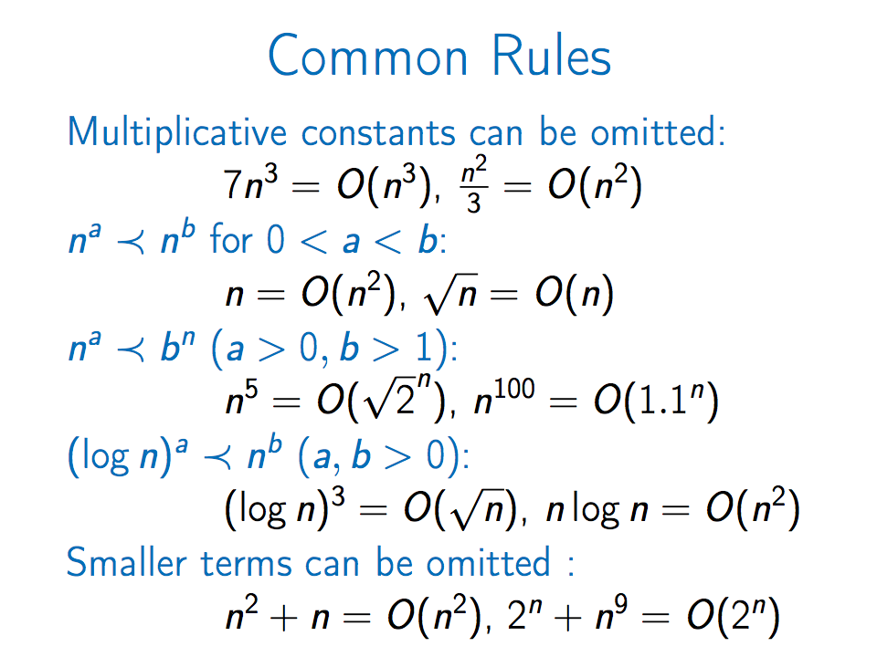Course 1 — Algorithmic toolbox — Part 2: Big-O and Greedy