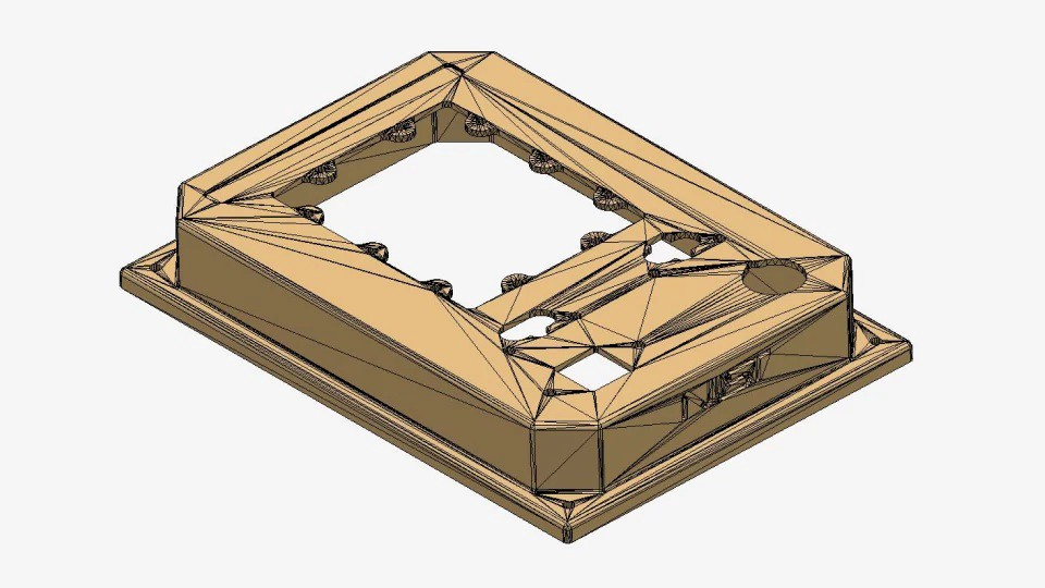 STEP tessellated geometry in CAD Exchanger 3.9.2