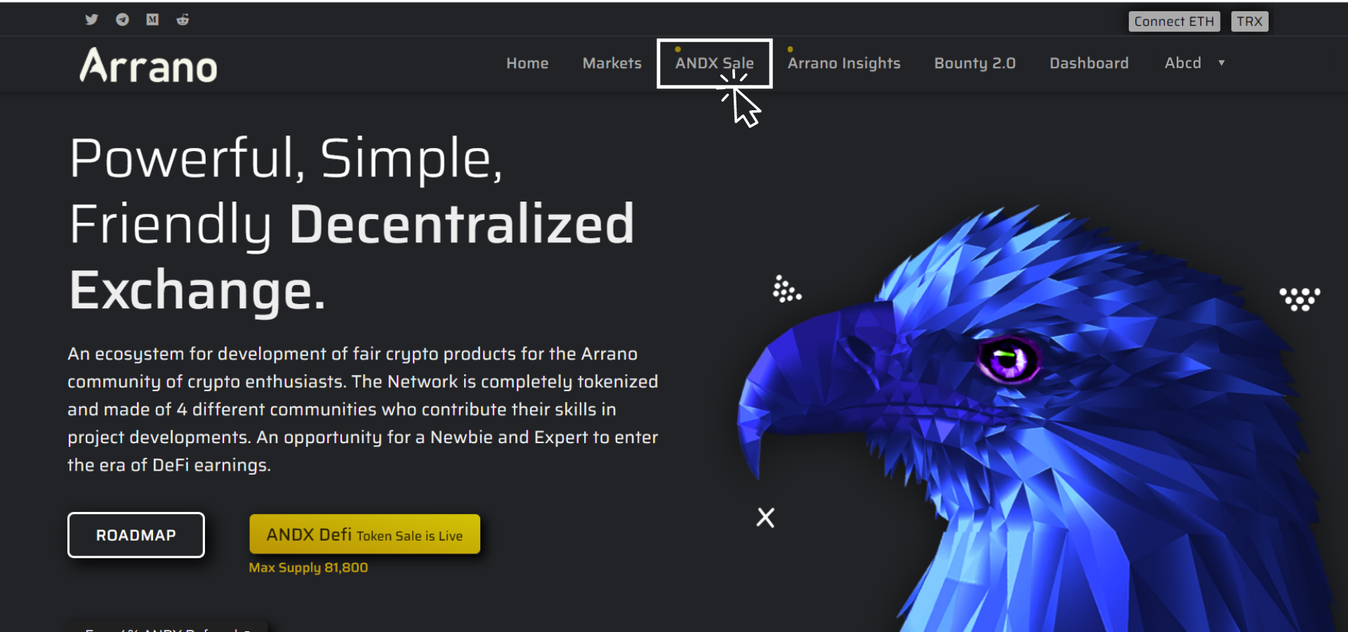 Arrano Network Review, ANDX Token Price, Airdrop & Details