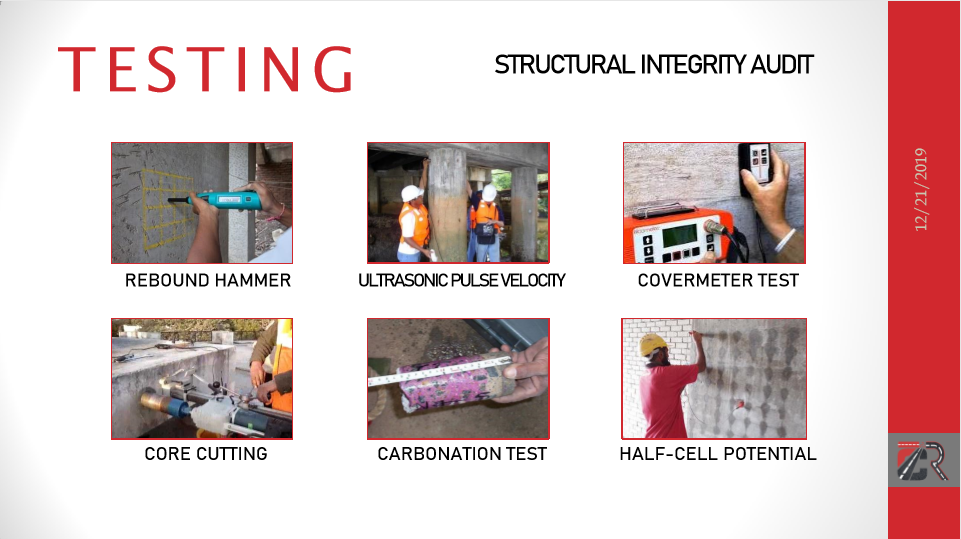 Image: Non-Destructive and Partial-Destructive Testing