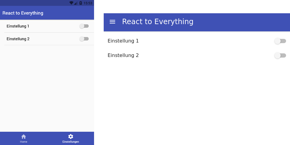 React to Everything - hello JS