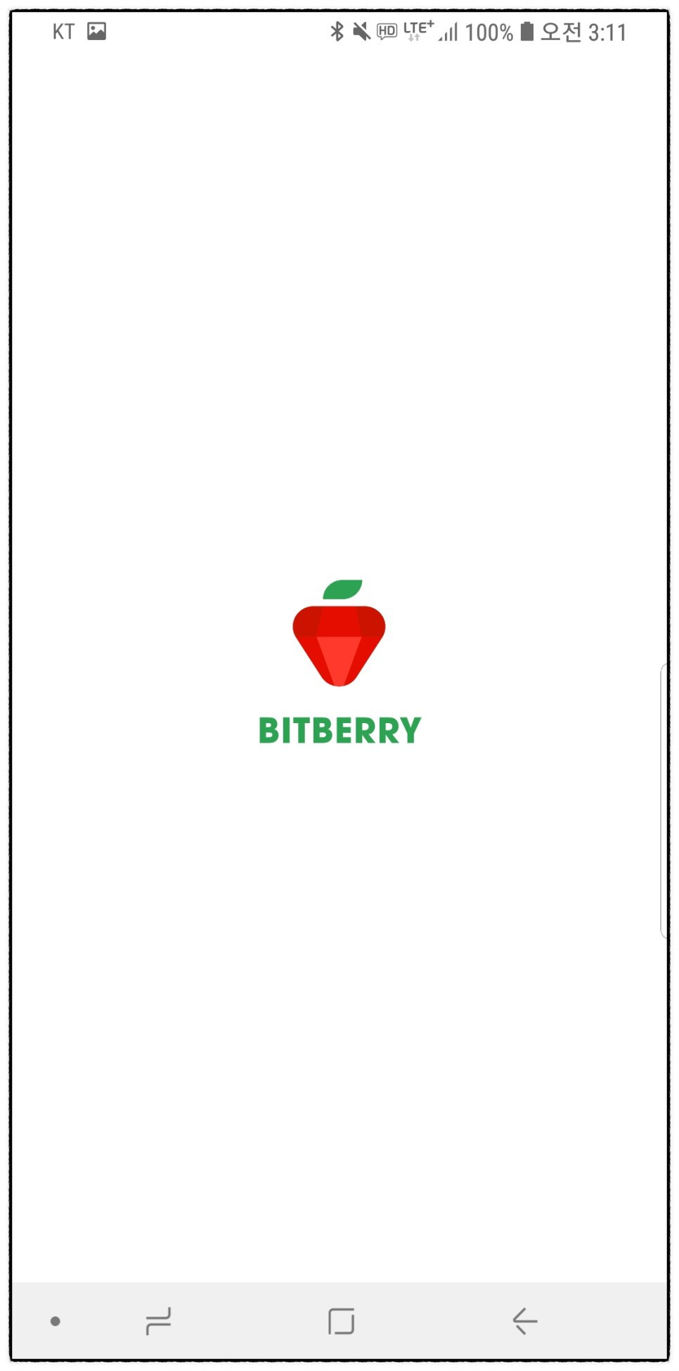 1. Bitberry Loading page