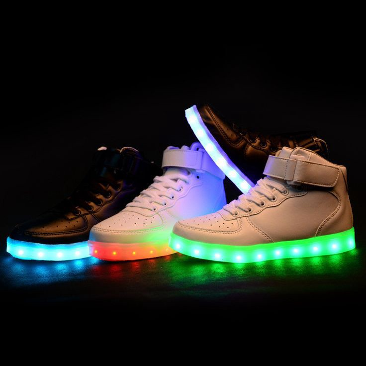 old school light up shoes