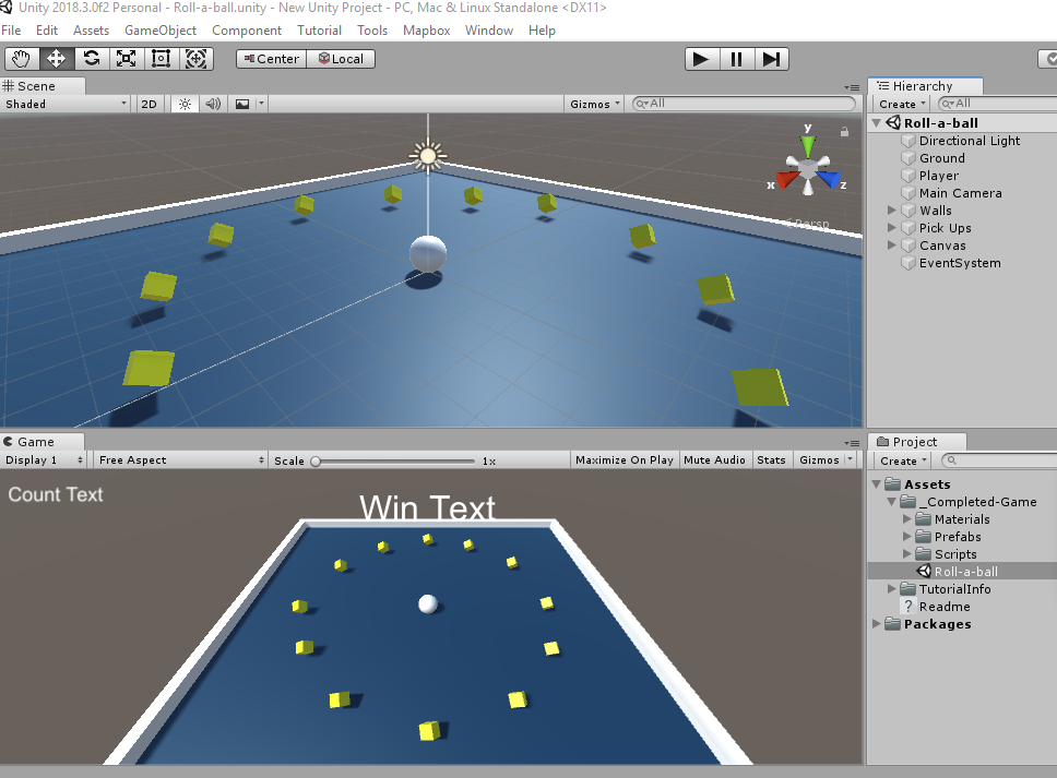 Day 20, Making a WebGL Game in Unity with Mapbox SDK