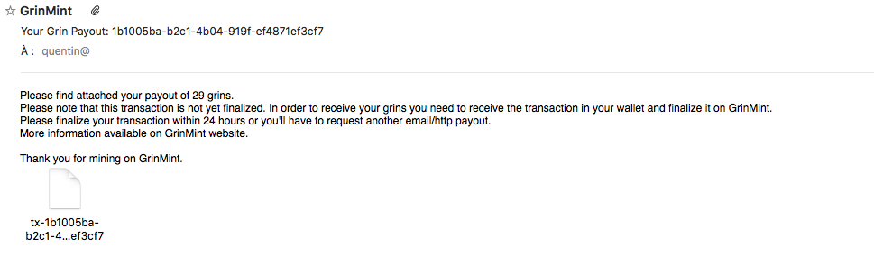 Mining Grin on Grinmint — How to Request Payouts