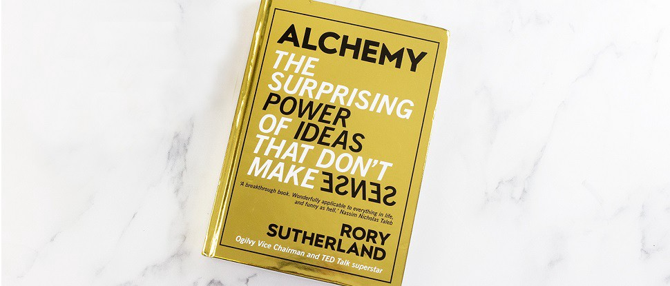 Book cover of Alchemy by Rory Sutherland