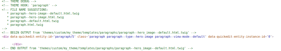 How To Create a Paragraph Template within Drupal 8 - Station