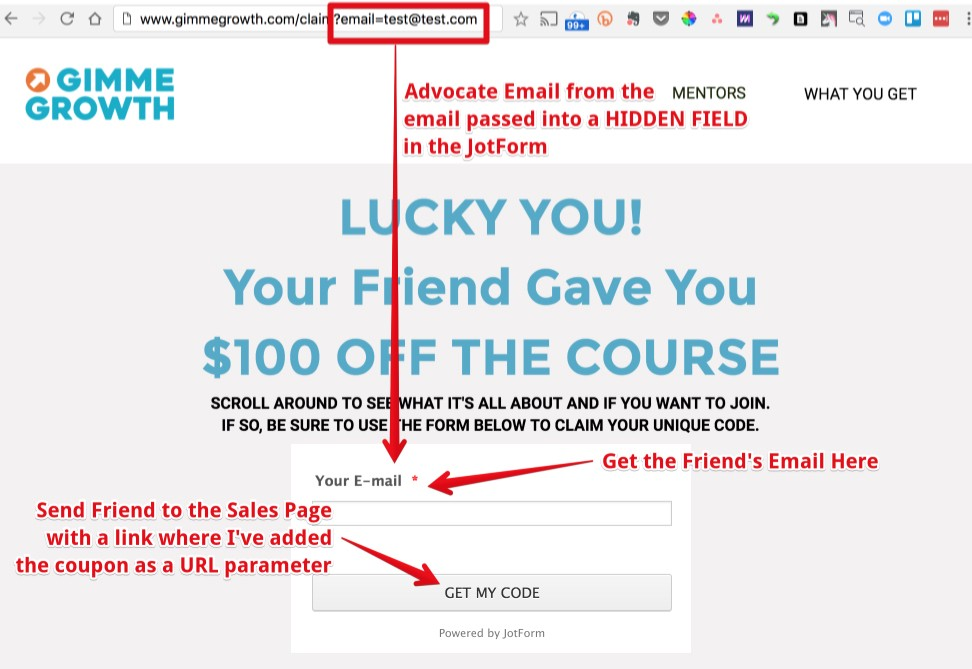 How to Hack Together a Referral Program In Less Than 1 Hour ⏱