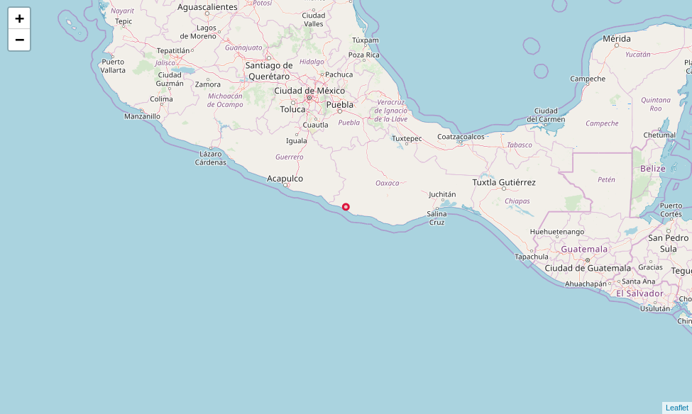 Analyzing a magnitude 7 2 earthquake in Mexico using Python
