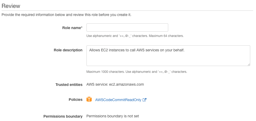 AWS CodeCommit Part 2: using Git with IAM Role on EC2 Instances