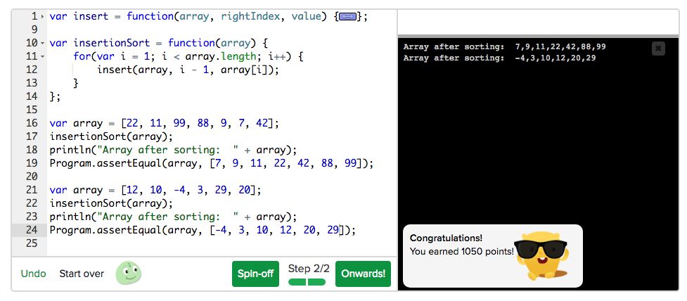 Revisiting Algorithms with Khan Academy - Amber Wilkie - Medium