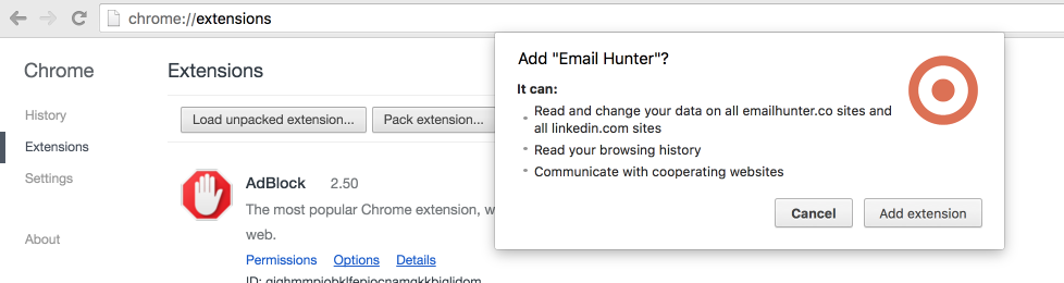 How to install a Chrome extension without using the Chrome