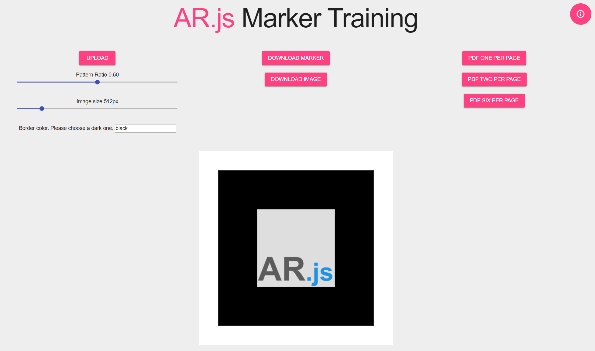 AR.js Maker Training