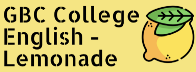 GBC College English — Lemonade