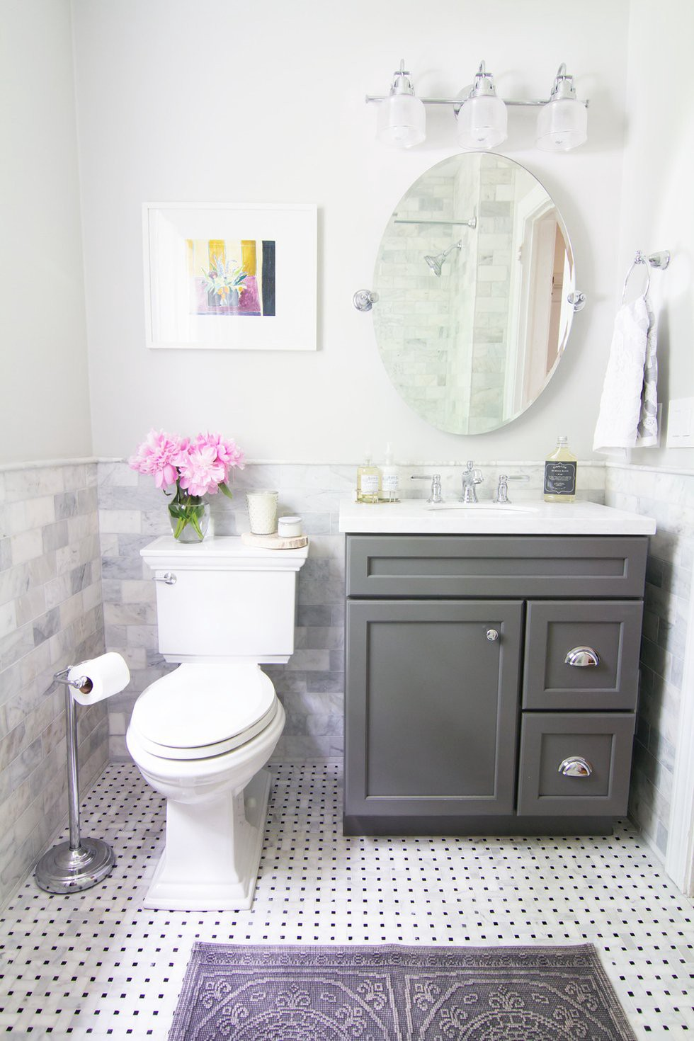 Ideas To Decorate Small Bathrooms By Putra Sulung Medium