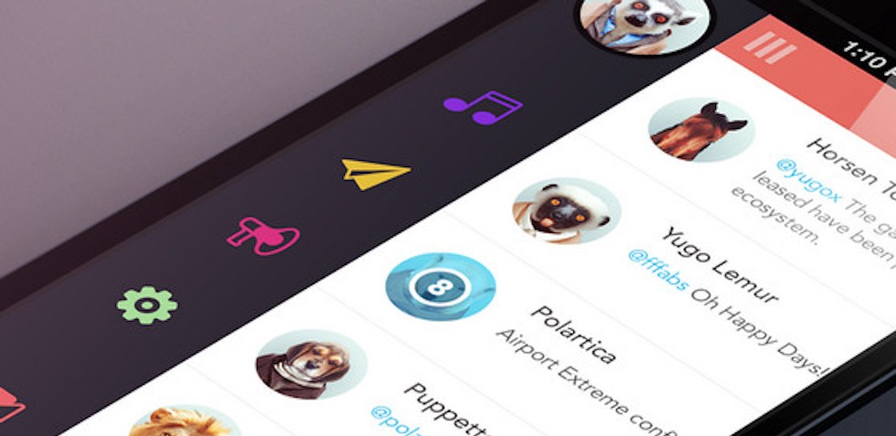 Top 8 Mobile Navigation Menu Design For Your Inspiration By Amy Smith Ux Planet