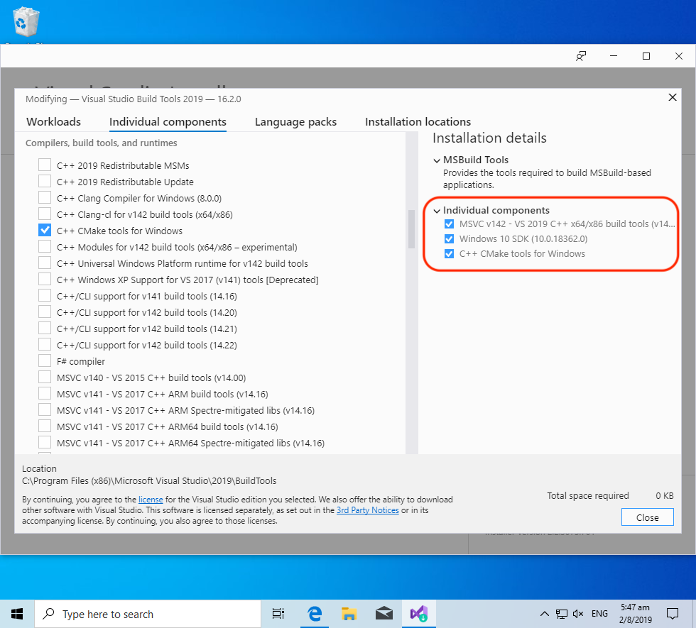 Install Embedded Rust and Apache Mynewt for Visual Studio