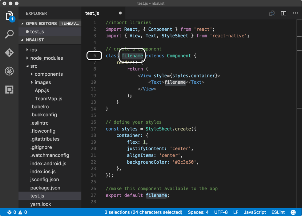 VS Code — how to create snippets to speed up your React