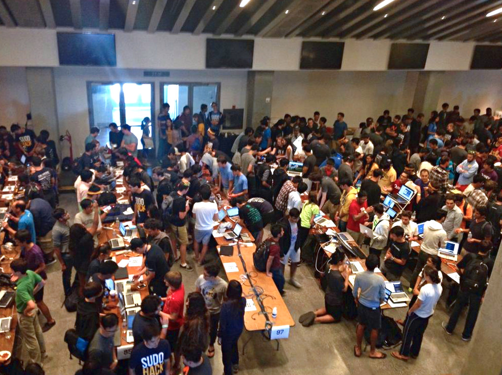 CalHacks Expo Floor