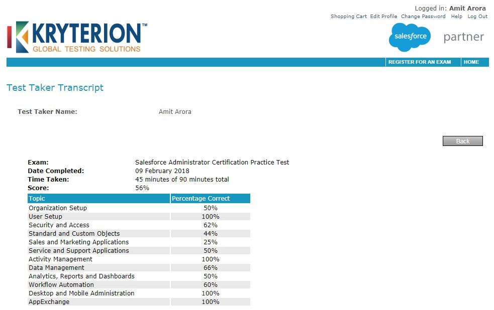 How I Passed my Salesforce Administrator Certification Exam