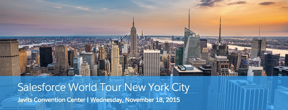 The Best Of Dreamforce 15 Is Coming To New York City