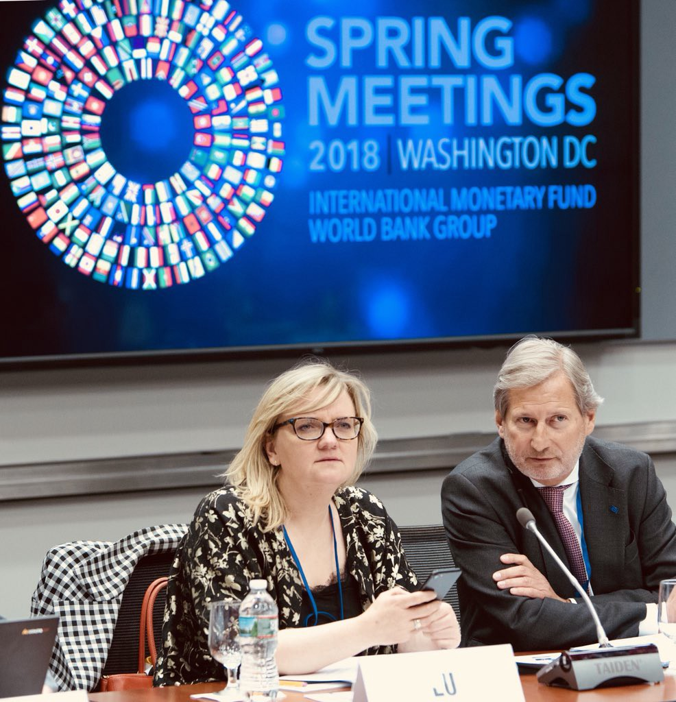 Team EU at the 2018 Spring Meetings - Delegation of the