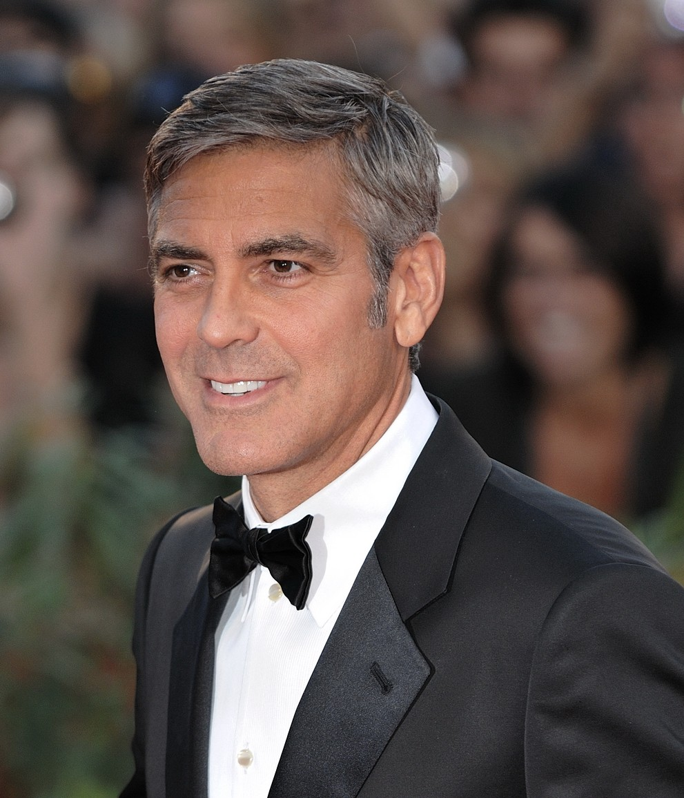 The incredible handsomeness of George Clooney.