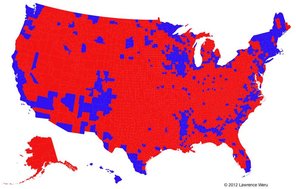 The Trouble with the Purple Election Map - Matter - Medium