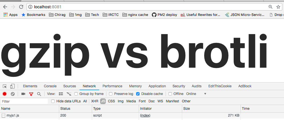 Nginx brotli compression (developed by Google) which helps