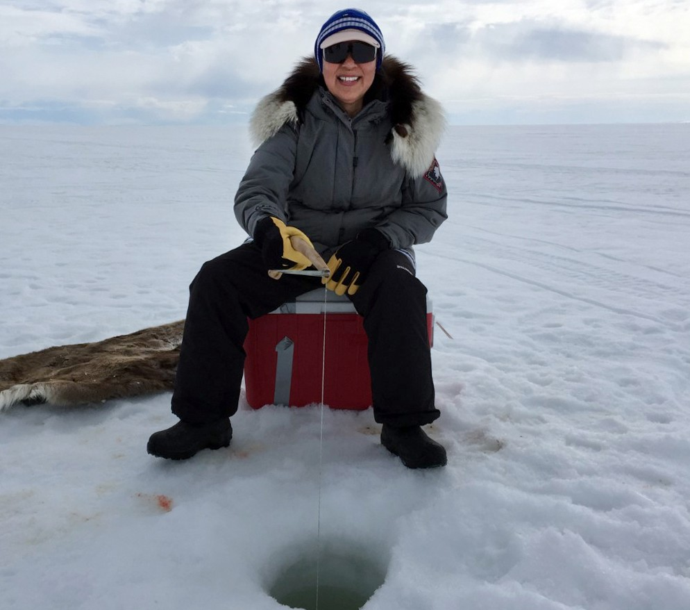 Siikauraq ice fishing