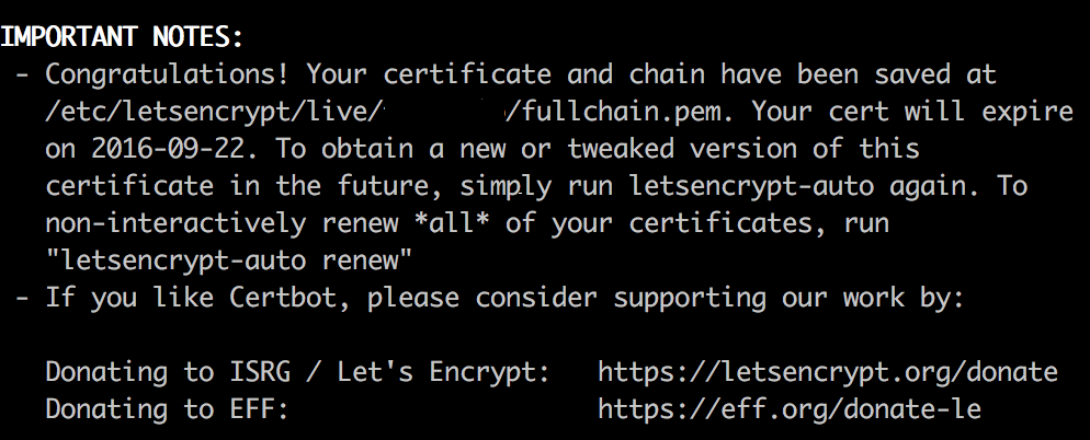 Authorising Let's Encrypt certificate requests using a Cloud
