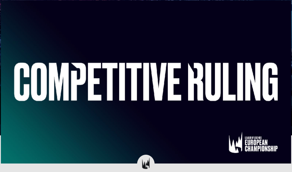 Competitive ruling
