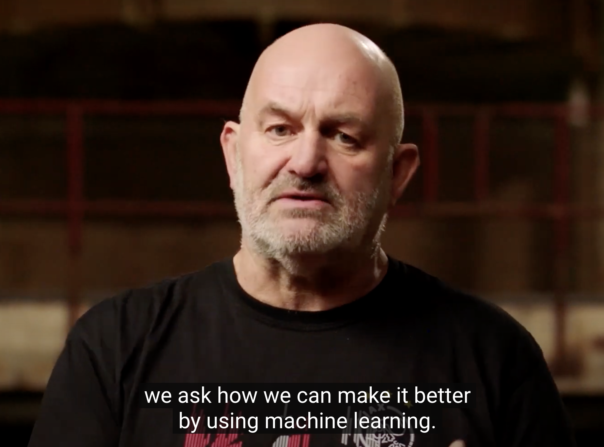 Werner Vogels, use machine learning