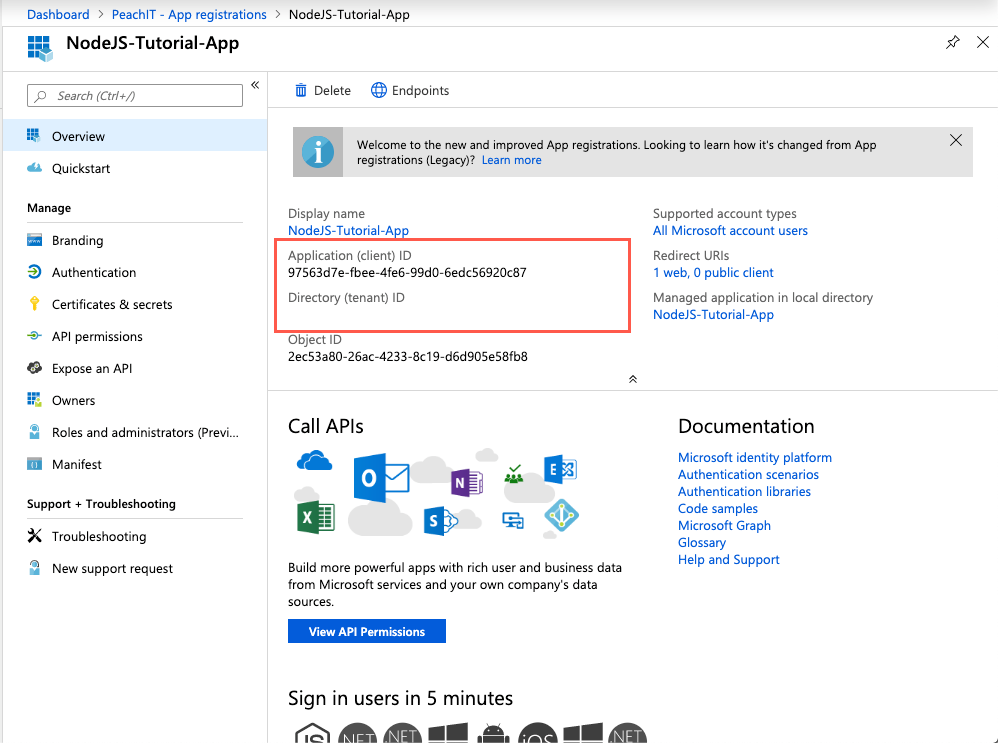 HOW TO — Get an Access Token for Microsoft Graph API using