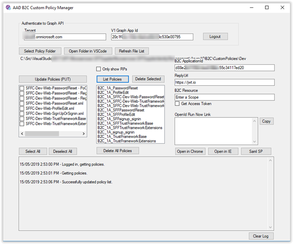 Tips and tricks for working with custom policies in Azure AD B2C