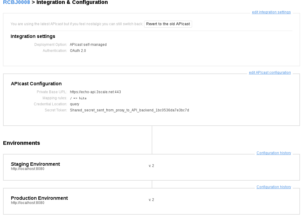 OAuth2 Configuration in 3Scale API Management (and APICast) with Red