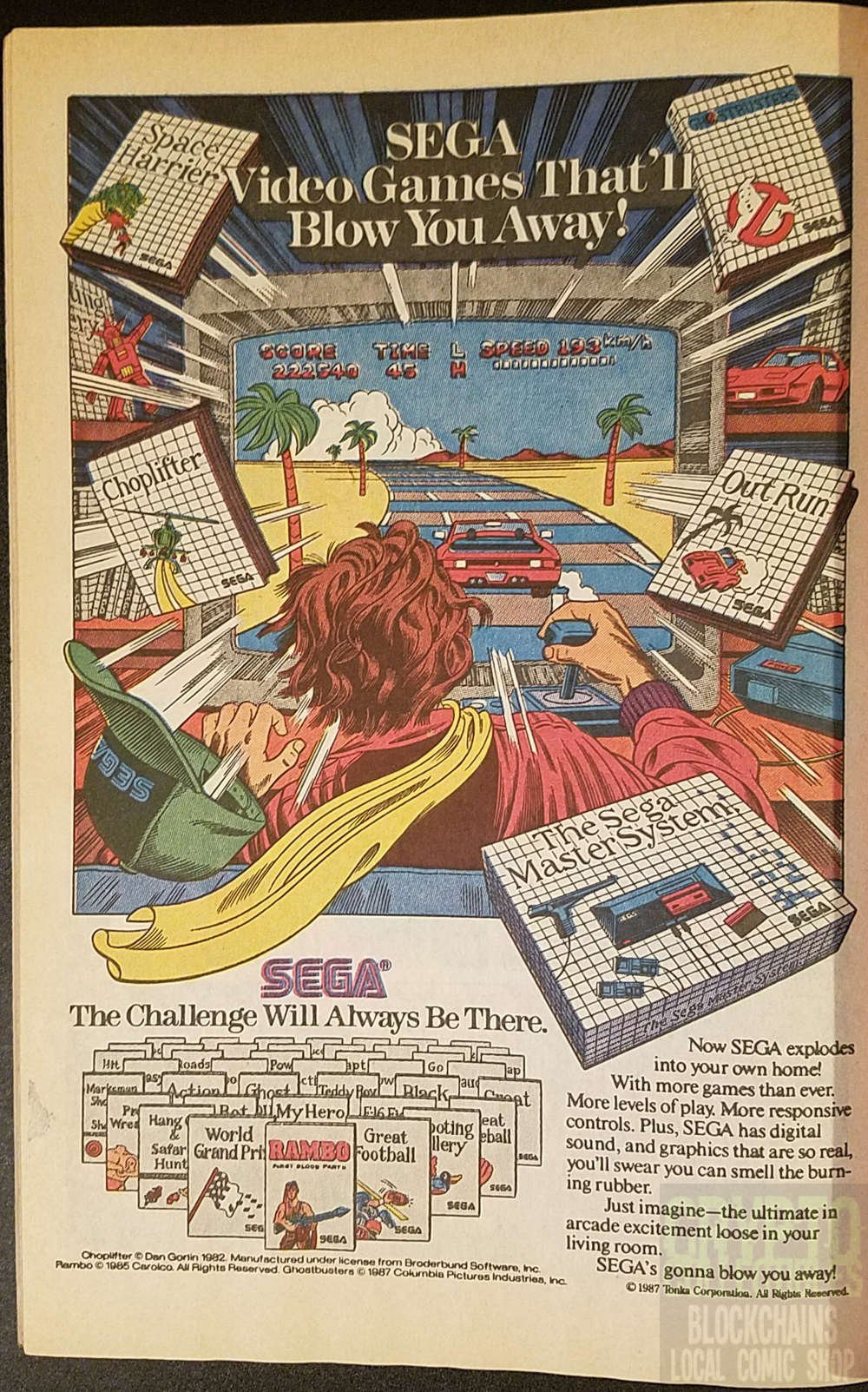 Crypto Collectibles presents A Very 80s Comic Book featuring ALF